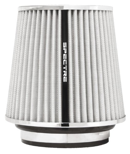 """Spectre Performance 8138 White 4-1/2"""" Air Filter front-579071"""