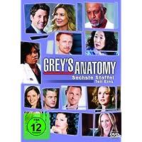 Grey's Anatomy: Die jungen �rzte - Sechste Staffel, Teil Eins [3 DVDs]