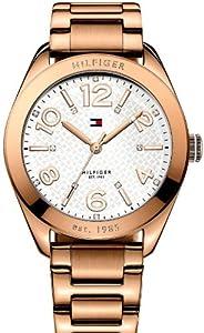 Tommy Hilfiger 1781260 - Reloj de pulsera mujer, acero inoxidable