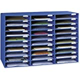 Classroom Keepers 30 Slot Mailbox, Blue