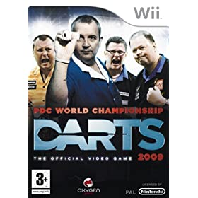 Wii PDC World Championship Darts 2009 PalMulti 5 PowerSeed preview 0