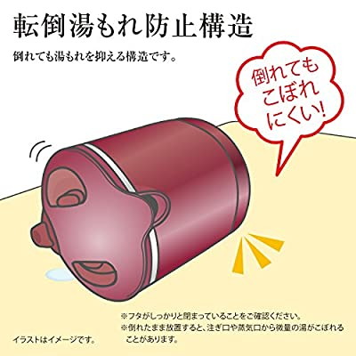象印 電気ケトル 800ml 1時間90℃保温機能つき CK-AW08-TM