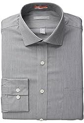 Van Heusen Men's Fitted Textured Button-Front Shirt