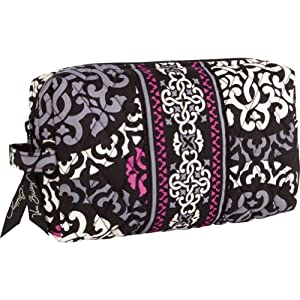 Vera Bradley Medium Cosmetic (Canterberry Magenta)