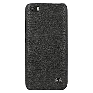 Parallel Universe® Royal PU Leather Back Case Cover for Xiaomi Mi5 - Black