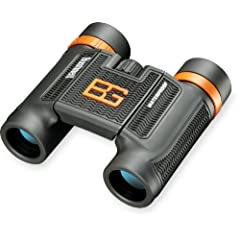 Buy Bushnell Bear Grylls 8 x 25mm Compact Roof Prism Waterproof Fogproof Binoculars,... by Bushnell