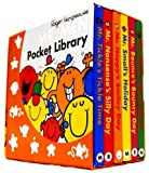 Roger Hargreaves Mr. Men Pocket Library 6 Books Collection (Mr. Bump Mr. Strong Mr. funny Mr. Nosey Mr. Tickle Mr. Greedy)