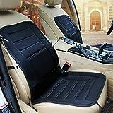 Lemonbest® Car Heated Seat Cushion Auto 12V Heating Warmer Pad Hot Cover Black