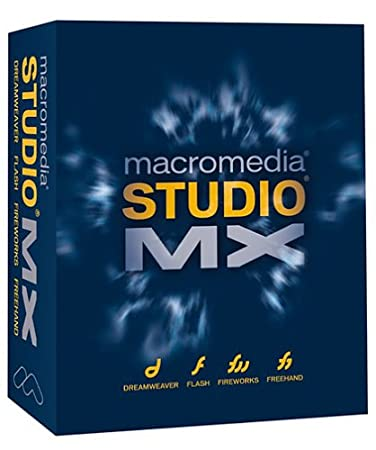 Macromedia Studio MX 2003 for Mac