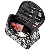 OURS Women's Zebras Printed Makeup Case Cosmetic Bags