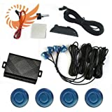 51QCPwDwqnL. SL160  Car LED Display 4 Parking Sensor Reverse backup Radar Sound Alarm System Paris Blue