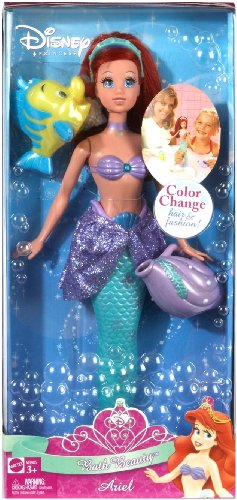 Disney Princess Bath Beauty Ariel Doll - 1