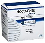 ACCU-CHEK Aviva Test Strips, 100 Count