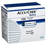 ACCU-CHEK Aviva Test Plus Strips, 100 Count ~ Accu Chek