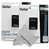 (2 Pack) Vivitar AHDBT-301 / AHDBT-302 Ultra High Capacity 1775mAH Li-ion Batteries For GoPro HD HERO3+, GoPro...