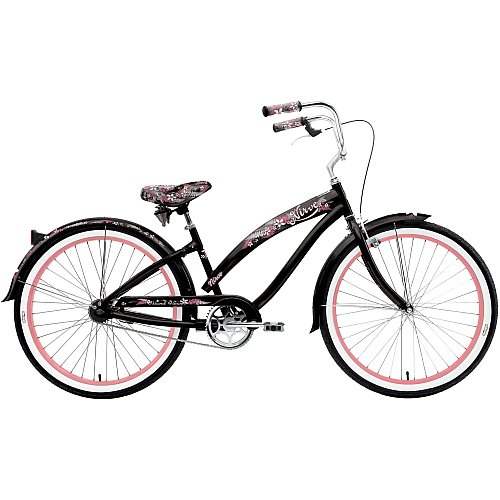 Nirve Island Flower 26 Women's Cruiser Bicycle
