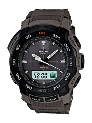 Casio Men's PRG550B-5 Pathfinder Triple Sensor Multi-Function Sports Watch