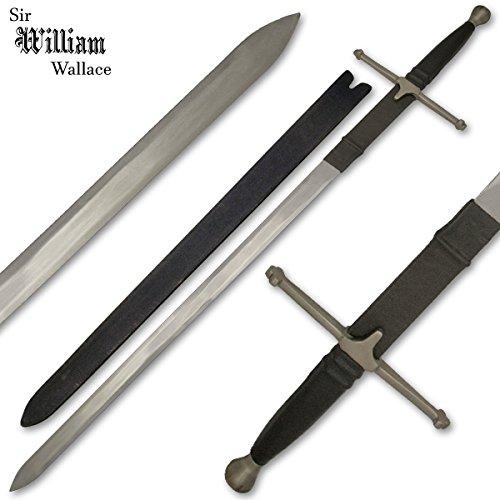 Classic William Wallace Replica Sword Black Brave Heart Movie Sword