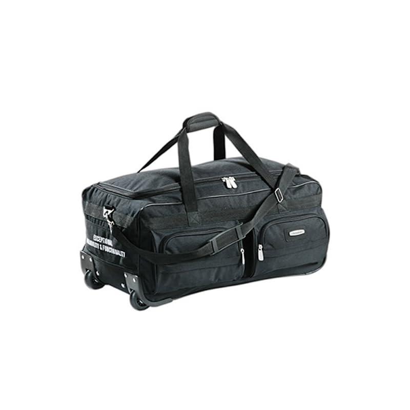 ASPENSPORT Grand sac de voyage avec roulettes Noir
