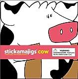 Stickamajigs: Cow Stickamajigs - Book #3