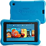 "Fire HD 6 Kids Edition Tablet, 6"" HD Display, Wi-Fi, 8 GB, Blue Kid-Proof Case"