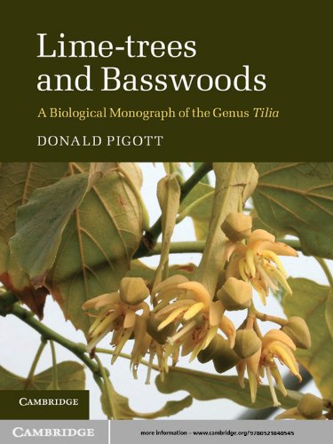 Donald Pigott - Lime-Trees and Basswoods