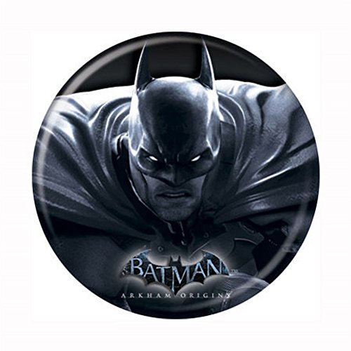 Batman Arkham Origins - Batman Glowing Eyes - DC Comics - Pinback Button 1.25""