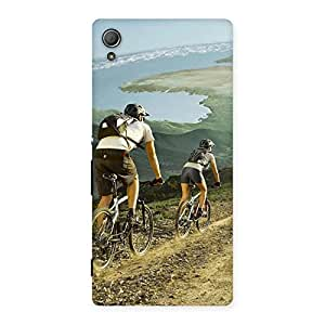 Bycycle View Back Case Cover for Xperia Z4