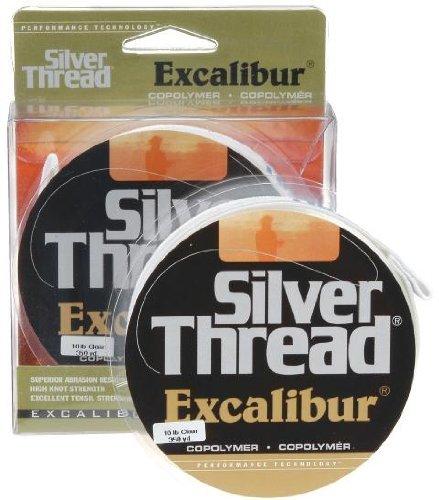 Pradco Silver Thread Excalibur Filler Spools Fishing Line-350 Yards
