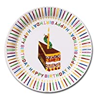 Hungry Caterpillar Paper Party Plates by Talking Tables
