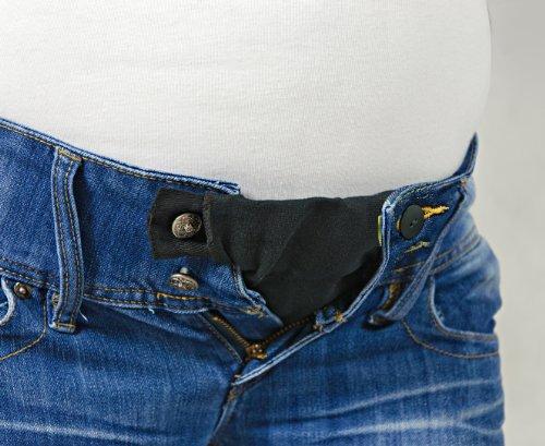 Вставить резинку в джинсы для беременных 24