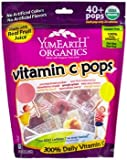 YumEarth Organic Vitamin C Lollipops Over 40 Pops - (2 Pack)