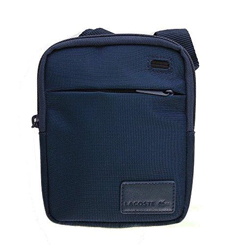 a9cbee38a8 Lacoste - Sacoche bandoulière pochette bleue NH1182SC