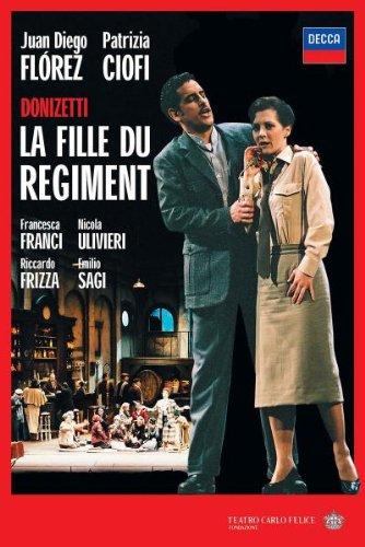 Gaetano Donizetti - La Fille du Régiment / Ciofi, Florez, Frizza, Sagi (Teatro del Carlo Felice di Genova 2005) [DVD] [2006]