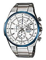 Casio Edifice Analog White Dial Men's Watch - EFR-503D-7A2VDF (EX049)