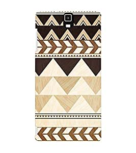 EPICCASE pyramids Mobile Back Case Cover For Infocus M330 (Designer Case)