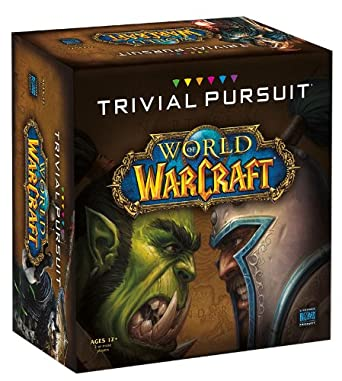 Trivial Pursuit Board Game Warcraft CE