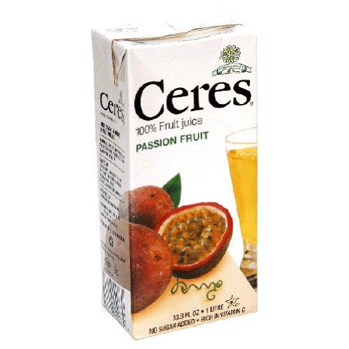 Ceres, Juice Passion Fruit, 33.8-Fluid Ounce (12 Pack) front-129772