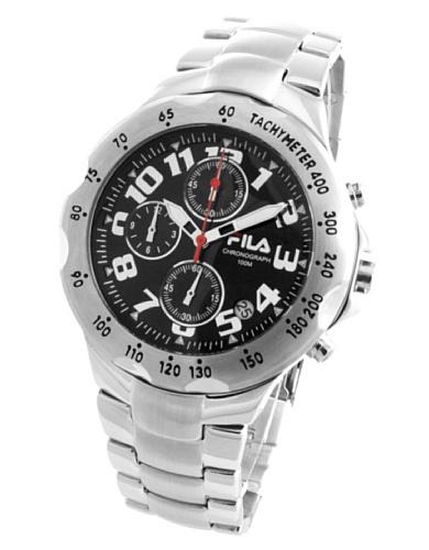 Fila hombre-reloj analógico de cuarzo de acero inoxidable 211815