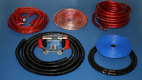IMC Audio 4 Gauge Power Wire Amp Kit 1000 Watt Red