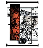 Metal Gear Solid 2 Sons of Liberty Game Fabric Wall Scroll Poster (31