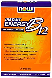 buy Now Foods B-12 Instant Energy Packets 75/Box