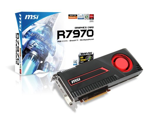 MSI Computer Corp. R7970-2PMD3GD5/OC Graphics Card