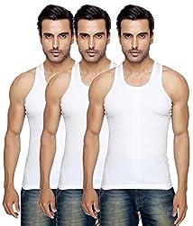 BLIVE Men's Vest Pack of 3 (Small)