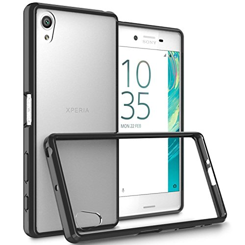 sony-xperia-x-case-clear-hybrid-and-screen-protector-scratch-resistant-slim-hard-back-panel-cover-wi
