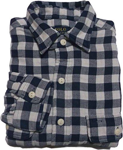 (ポロ ラルフローレン) フランネルシャツ 長袖 ネイビー Polo Ralph Lauren SHIRTS 676 [並行輸入品]