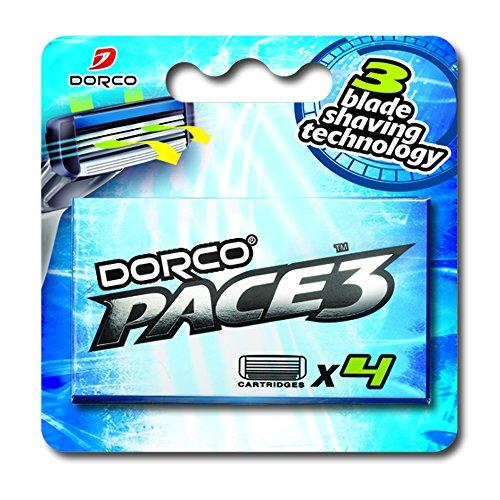 dorco-pace-3-razor-manual-blades-for-men-safe-sensitive-shaving-system-4-blades