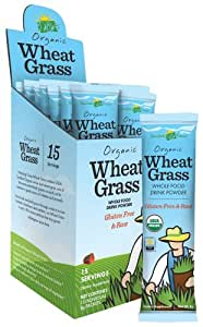 Amazing Grass - Wheat Grass Drink Powder - 15 Packet(s) CLEARANCE PRICED