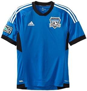 MLS San Jose Earthquakes Replica Away Jersey by adidas