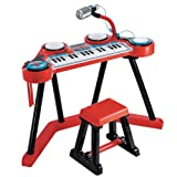 Early Learning Centre Key Boom Board - Red